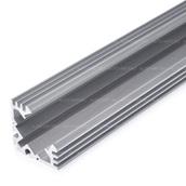 Алюминиевый профиль для светодиодной ленты Угловой 19x19mm
