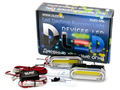 Дневные ходовые огни DRL-113 COB 2x3W