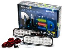 Дневные ходовые огни DRL-128 DIP 2x2W