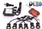 Дневные ходовые огни DRL-6 x 2 High-Power 18W