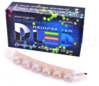 Дневные ходовые огни DRL- 65 (гибкие) SMD5050 1.5W
