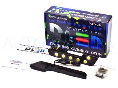 Дневные ходовые огни DRL-66 High-Power 6W