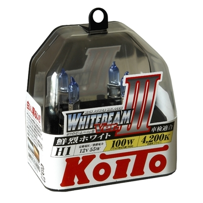 Газонаполненные лампы H1 - Koito Whitebeam     4200K