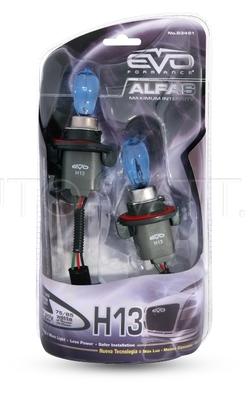 Газонаполненные лампы H13 EVO Alfas 4300K