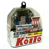 Газонаполненные лампы H7 - Koito Whitebeam ||| 55Вт 4200K