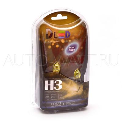 Газонаполненные лампы H3 DLED Evolution Yellow 2300K