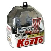 Газонаполненные лампы H3 - Koito Whitebeam ||| 4000K