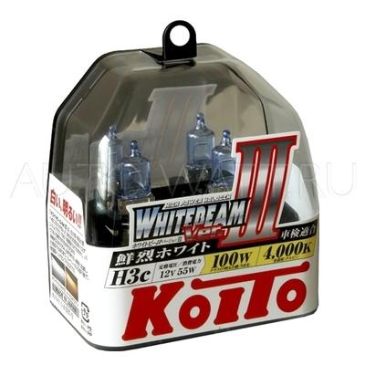 Газонаполненные лампы H3 - Koito Whitebeam ||| C 4000K