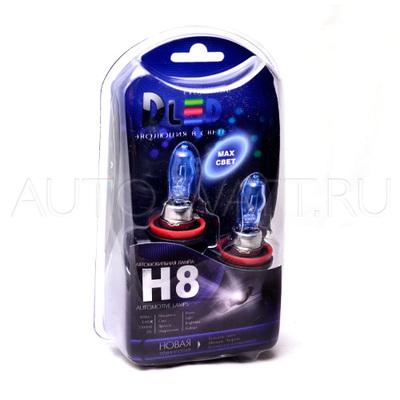 Газонаполненные лампы H8 DLED Evolution White 4300K