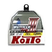 Газонаполненные лампы H8 - Koito Whitebeam ||| 4000K