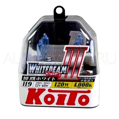 Газонаполненные лампы H9 - Koito Whitebeam ||| 4000K