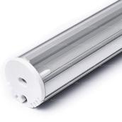 Набор круглого профиля 20мм с рассеивателем для светодиодной ленты