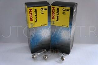 Лампа галогенная C21W 41M - Bosch 12V 15W
