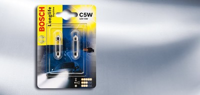 Лампа галогенная C5W 36M - Bosch 12V 5W