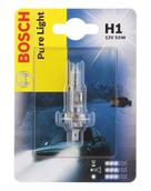 Лампа галогенная H1 - Bosch Pure Light 12V 55W