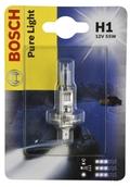 Лампа галогенная H1 - Bosch Pure Light 55W