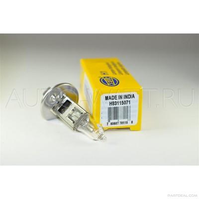 Лампа галогенная H1 - Hella +90% 55W 12V