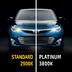 Лампа галогенная H1 - MTF Platinum 12V 55W 3800K