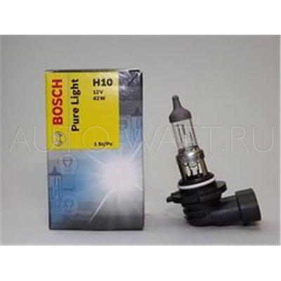 Лампа галогенная H10 - Bosch Pure Light 42W