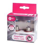 Лампа галогенная H11 - GE Megalight Ultra +120