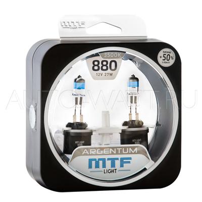 Лампа галогенная H27 800 - MTF Argentum + 50% 12V 27W 3500K