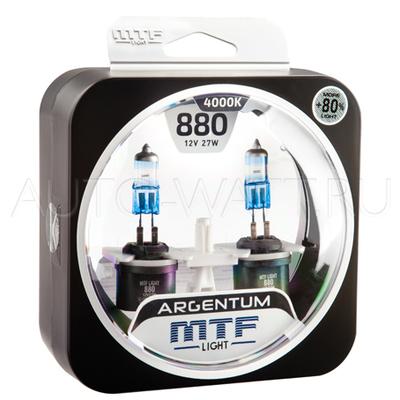 Лампа галогенная H27 800 - MTF Argentum + 80% 12V 27W 4000K