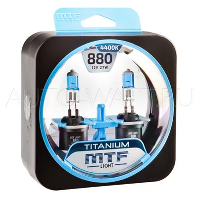Лампа галогенная H27 800 - MTF Titanium 12V 27W 4400K