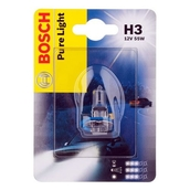 Лампа галогенная H3 - Bosch Pure Light 55W