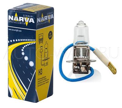 Лампа галогенная H3 - NARVA 12V 55W