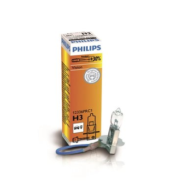 Лампа галогенная H3 - PHILIPS Vision +30% 12V 55W 3000K
