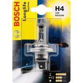 Лампа галогенная H4 - Bosch LongLife DayTime 12V 55/60W