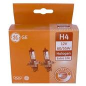 Лампа галогенная H4 - GE Extra Life