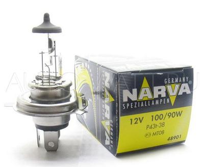 Лампа галогенная H4 - NARVA 12V 100/90W