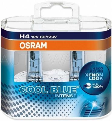 Лампа галогенная H4 - OSRAM Cool Blue Intense 12V 55/60W