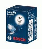 Лампа галогенная H7 - Bosch LongLife DayTime Plus 10% 12V 55W