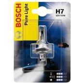 Лампа галогенная H7 - Bosch Pure 55W