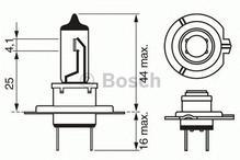 Лампа галогенная H7 - Bosch 12V 55W