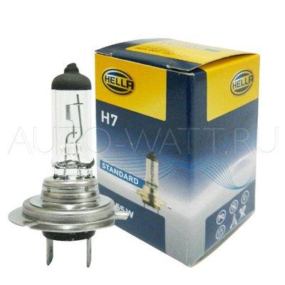 Лампа галогенная H7 - Hella 55W 12V