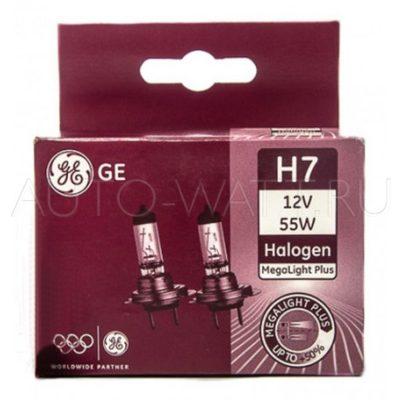 Лампа галогенная H7 - General Electric H7 Megalight Ultra +120