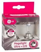 Лампа галогенная H7 - GE Megalight Ultra +120