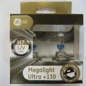 Лампа галогенная H7 - GE Megalight Ultra +130