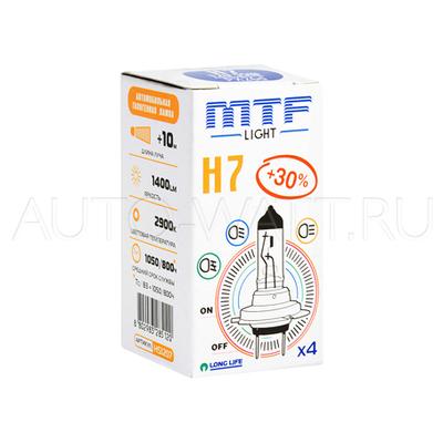 Лампа галогенная H7 - MTF 12V 55W 3000K