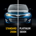 Лампа галогенная H8 - MTF Platinum 12V 35W 3800K