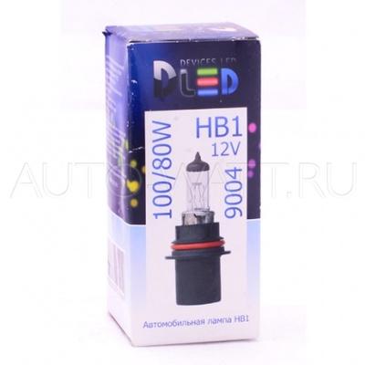 Лампа галогенная HB1 9004 - DLED 80/100W 12V