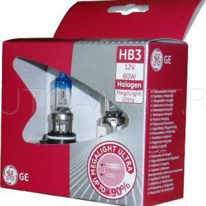 Лампа галогенная HB3 9005 - GE Megalight Ultra +90