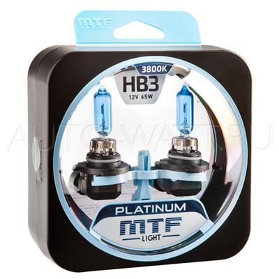 Лампа галогенная HB3 9005 - MTF Platinum 12V 65W 3800K