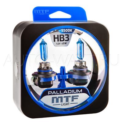 Лампа галогенная HB3 9005 - Palladium 12V 65W 5500K