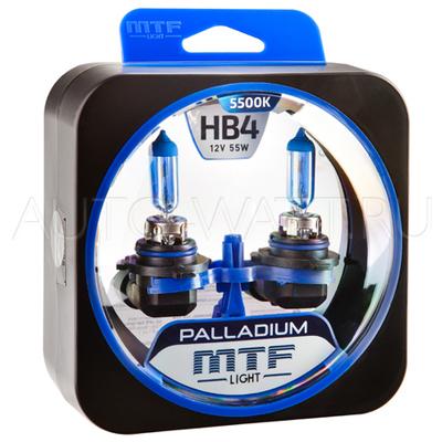 Лампа галогенная HB4 9006 - MTF Palladium 12V 55W 5500K