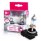 Лампа галогенная HB4 9006 - GE Megalight Ultra +120