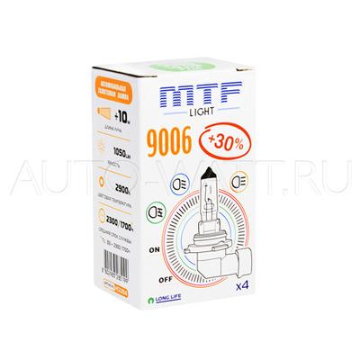 Лампа галогенная HB4 9006 - MTF 12V 55W 3000K